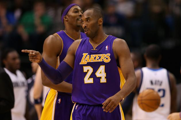 Kobe Bryant Can't Afford to Just Lead Lakers by Example