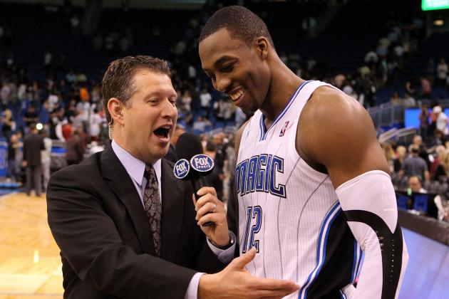 Dwight Howard Isn't Looking Back as Game Against the Magic Approaches