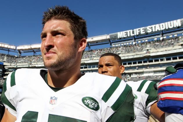 New York Jets Officially Declare Tim Tebow Inactive Against Arizona Cardinals