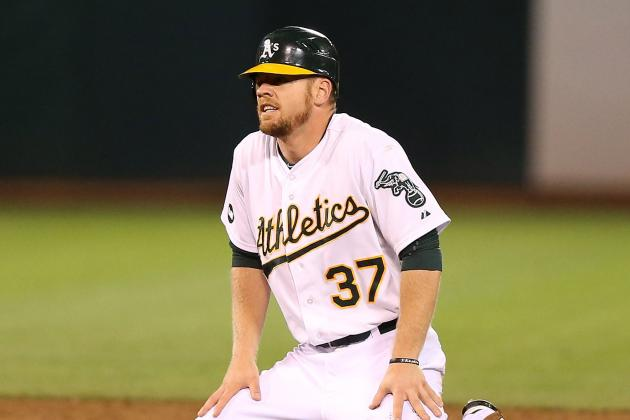 A's 2013 Roster Breakdown: First Base