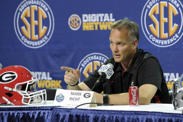 Mark Richt: Georgia Head Coach Reportedly Storms Out of Press Conference