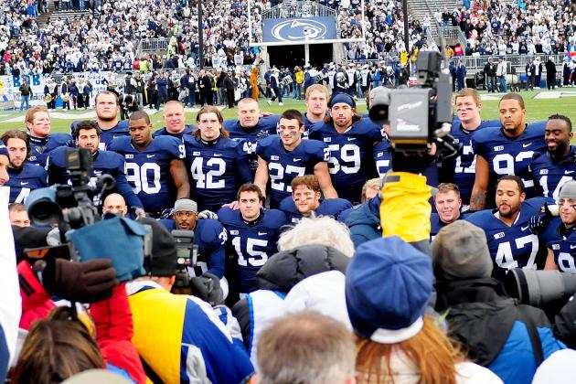 Penn State Football: Picking the Offensive and Defensive MVPs from 2012 Season