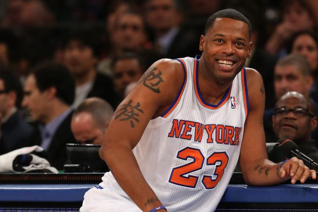 New York Knicks: Why Isn't Marcus Camby Playing More Minutes?