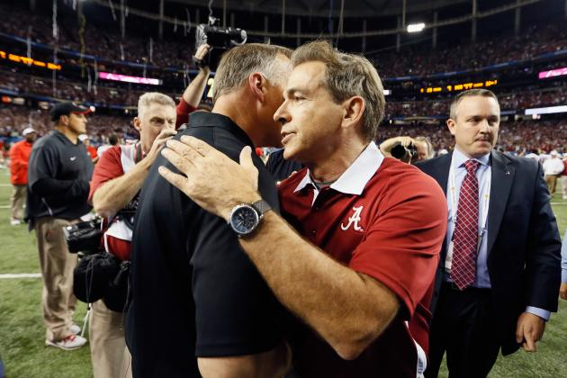 Saban Endorses Florida, but Says It's 'Ridiculous' UGA Won't Play in BCS Game