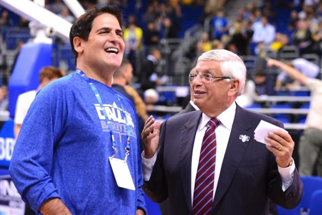 Cuban Supports NBA Fining Spurs