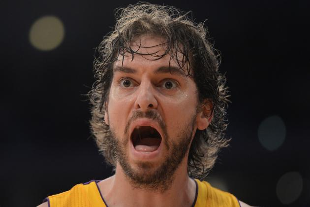 Pau Gasol: LA Lakers' NBA Title Hopes Would Be Destroyed If Veteran PF Is Traded