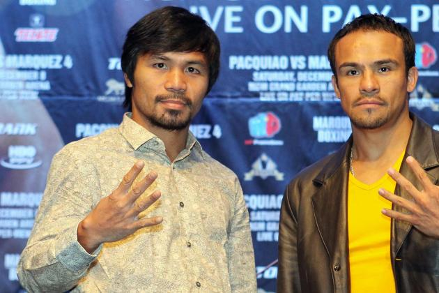 Pacquiao vs. Marquez: Changes Pac-Man Must Make in Part 4