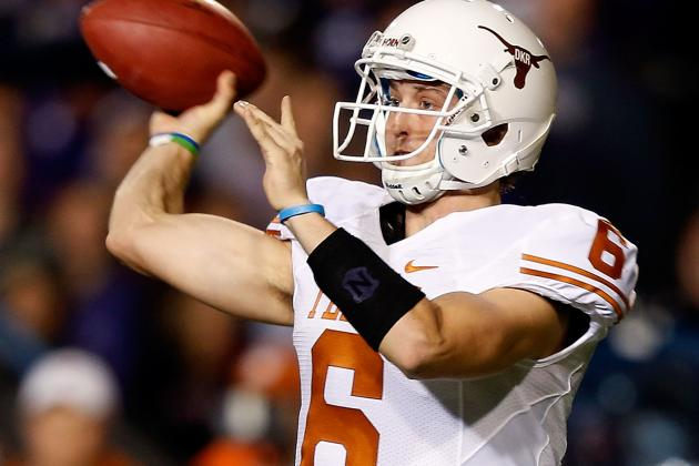 Texas' Case McCoy Shows He Can Be Great and Horrific in Same Game