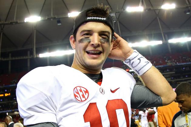 AJ McCarron Says the Tide Has a 'never-Give-Up Attitude'