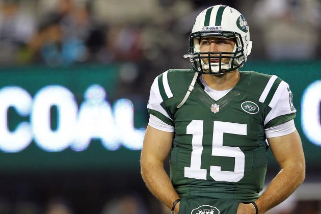 Tebow Inactive for Jets; Greg McElroy Sees Game Day Roster for First Time