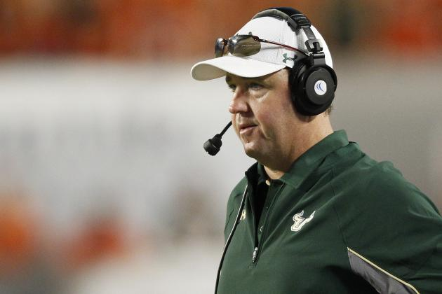 Sources: S. Florida Fires Holtz After Third Year