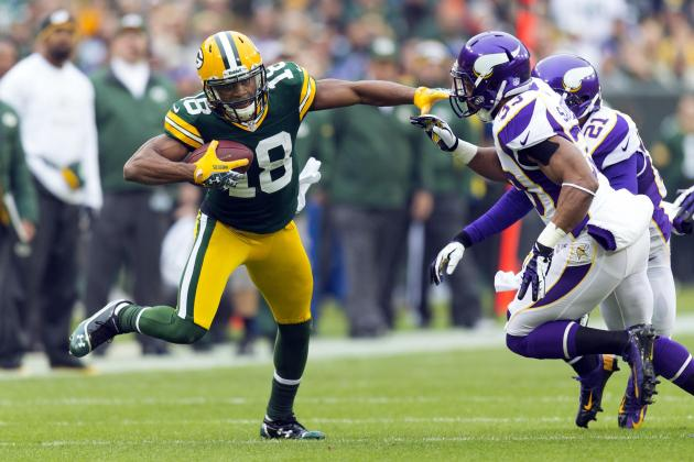 Start 'Em, Sit 'Em Week 14: Randall Cobb and Top Plays in Your Fantasy Lineup