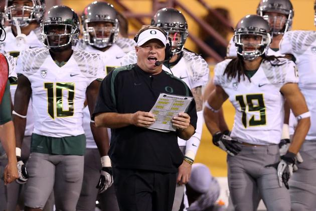 Oregon Football: Ducks Will Win Projected Fiesta Bowl Shootout vs. Kansas State