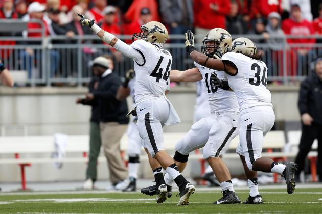 Purdue Heads to Heart of Dallas Bowl