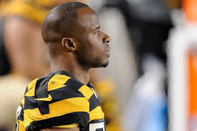 Ike Taylor Questionable to Return Due to Ankle Injury