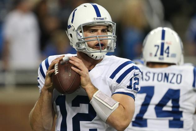 Andrew Luck Throws Last-Second TD Pass to Lift Colts