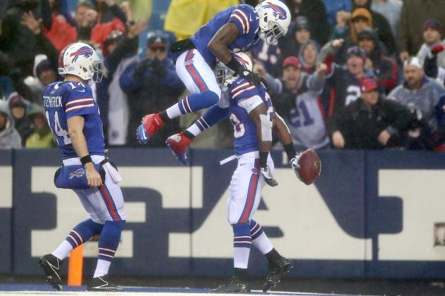 Bills blast Jags to keep slim playoff hopes alive