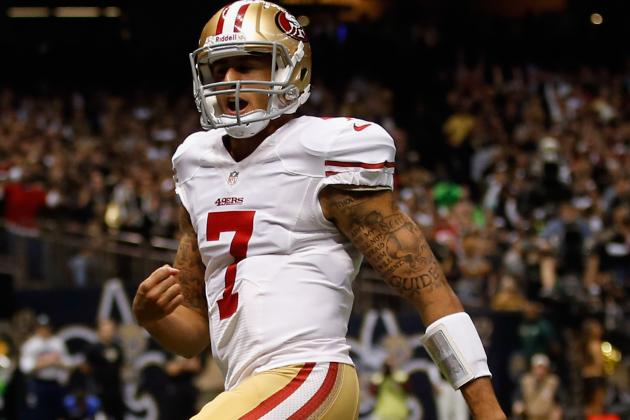 Harbaugh 'Proud of Kap' Says No Change at QB