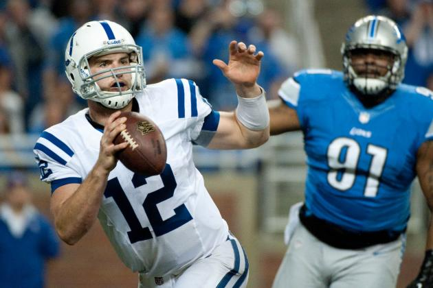 Move Over, RG3, Andrew Luck Is Rookie of the Year Favorite Again