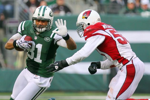 Jets TE Keller Leaves with Ankle Injury