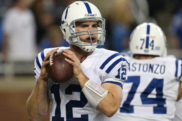 Andrew Luck: Numbers Suggest Colts QB Will Be Next Peyton Manning