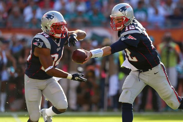 Patriots Beat Dolphins in Spite of Making Their Running Game Disappear