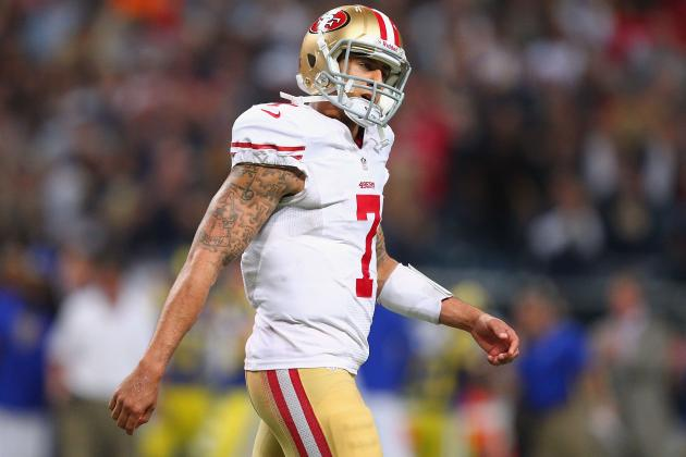 Colin Kaepernick: Jim Harbaugh Must Admit Mistake and Bench QB for Alex Smith