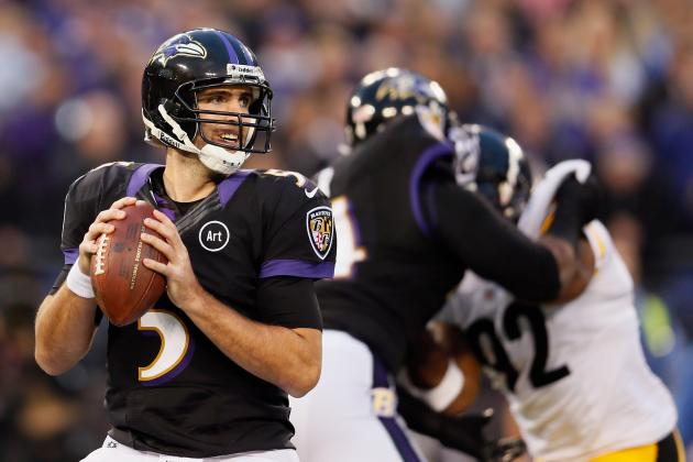 Joe Flacco: Another Clutch Loss to Pittsburgh Steelers Proves QB Is Overrated
