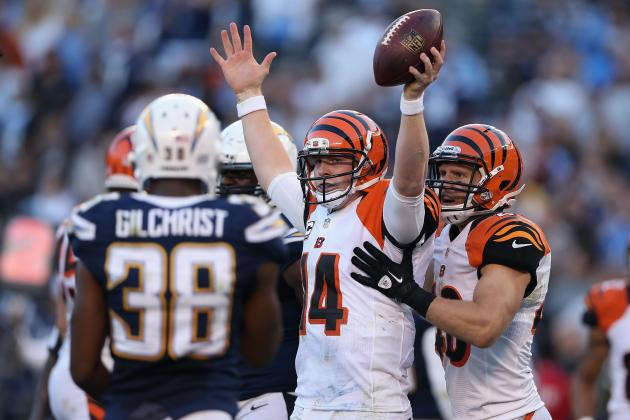 Cincinnati Bengals Win Fourth Straight, Down Chargers in San Diego 20-13