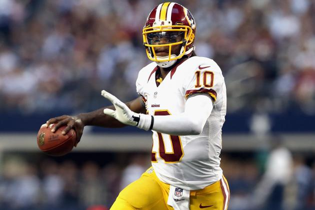 NFL Picks Week 13: Robert Griffin III Will Lead Redskins to Victory over Giants