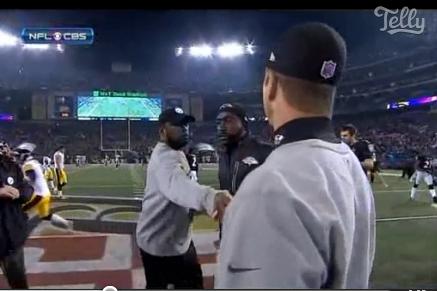 More Handshake Drama
