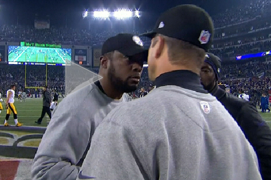 You Make the Call: Did Mike Tomlin Diss John Harbaugh with Postgame Handshake?