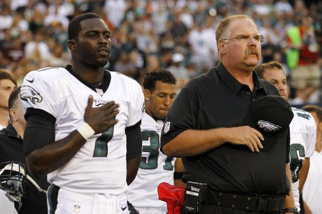 If Cowboys Add Andy Reid, Should Eagles Coach Bring Michael Vick with Him?