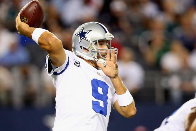 Tony Romo Becomes Cowboys' All-Time Leader in TD Passes