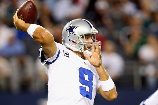 Romo Break's Aikman's Record, Ties Game