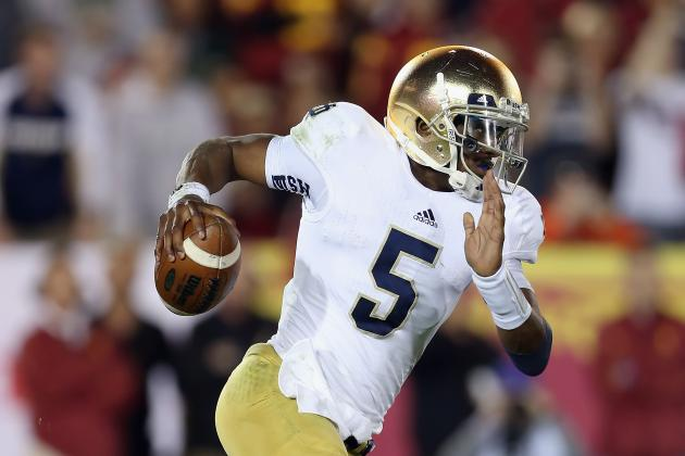 Notre Dame Football: Predicting Stats for Top Offensive Performers vs. Alabama