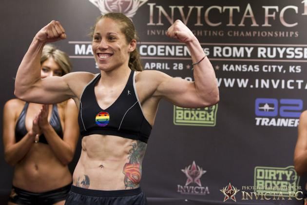 Liz Carmouche Wants 1st Shot at Ronda Rousey in the UFC