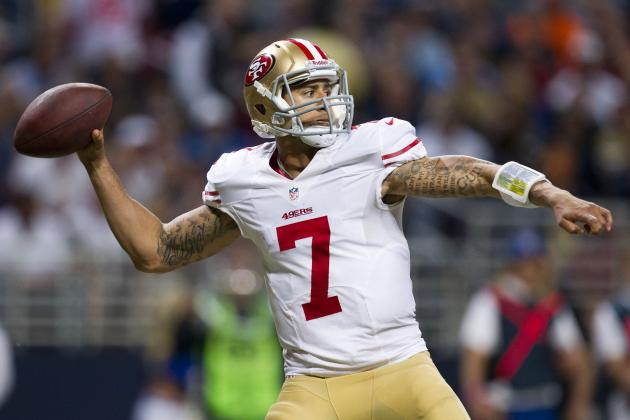 Colin Kaepernick: Fantasy Owners Should Stick with 49ers QB in Week 14