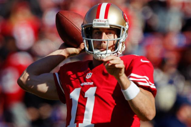 Alex Smith: Starting Veteran QB Won't Solve 49ers' Problems Down the Stretch