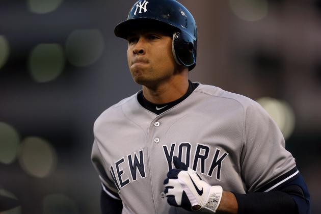 Report: A-Rod to Undergo Hip Surgery, Miss Part of Season