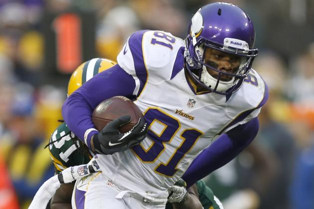 Vikings Receivers at a Loss About Continued Struggles