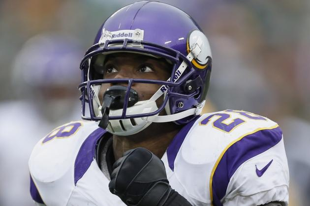 Adrian Peterson Attempts to Shoulder Some of the Blame for Loss