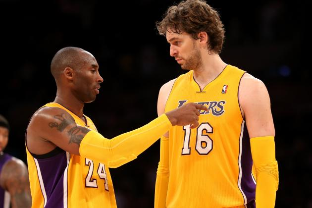 Kobe Wants Gasol to Put His 'Big-Boy Pants On
