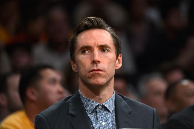 Steve Nash Out at Least Another Week, Says He Has 'Small Improvement'