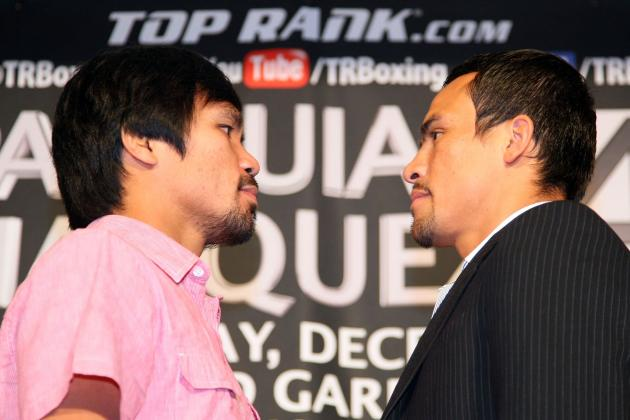 Pacquiao vs. Marquez: Timeline of Epic Boxing Rivalry