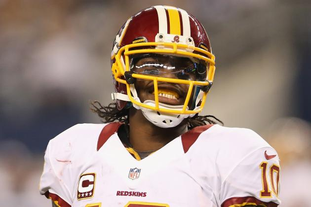 RGIII Confident Redskins Can Finish Job in Rematch vs. Giants