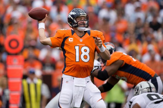 Peyton Manning: Broncos QB Will Carve Up Raiders' Defense on Thursday Night