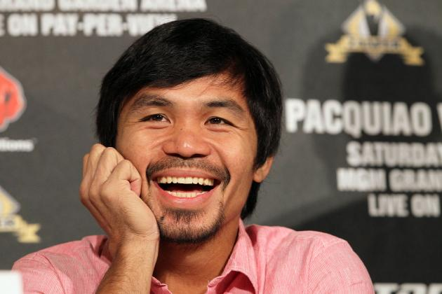 Pacquiao vs. Marquez Odds: Easy Money Should Remain on Pac-Man