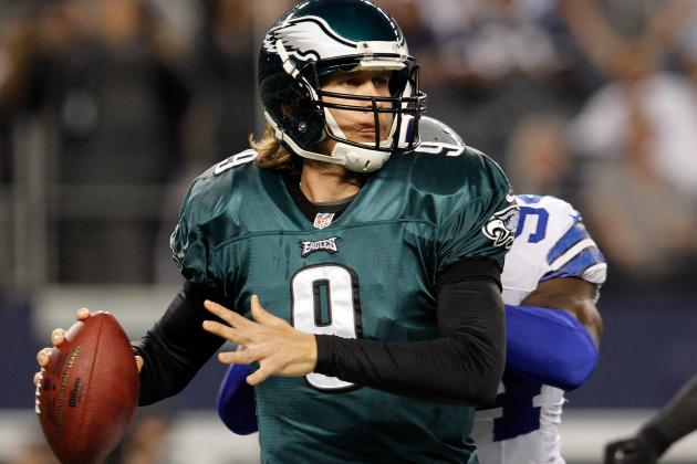 Foles Will Start for the Eagles, Even If Vick's Well