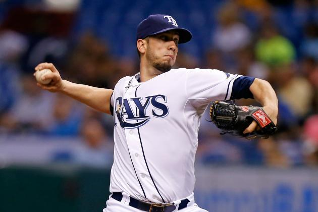 Nationals Showing Interest in Star Rays Righthander James Shields
